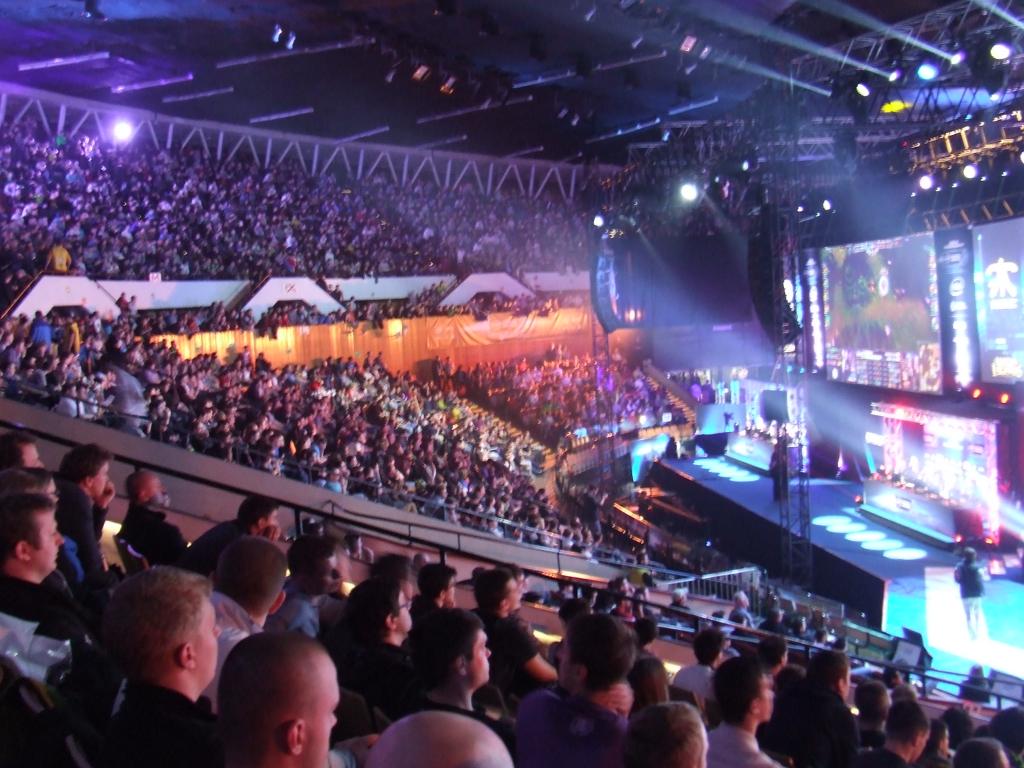 Na tym zdjęciu widzicie jakieś 1/3 publiczności, która zgromadziła się w Spodku w niedzielę.